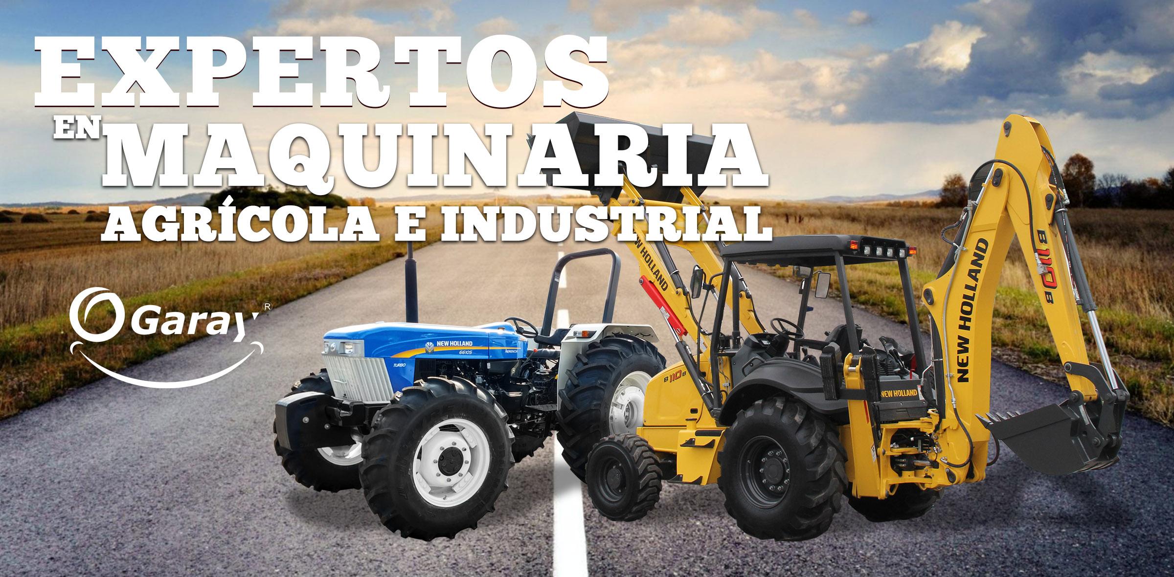 BANNER PRINCIPAL PAGINA WEB EXPERTOS EN MAQUINARIA AGRICOLA E INDUSTRIAL